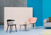Hay Furniture / Inspiration from Scandinavian design house HAY