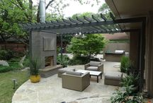 Gardens - Patios Contemporary