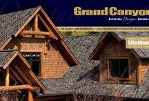 Gaf Roofing / Differant styles and colors of Gaf shingles. Gaf master Elite, Golden pledge