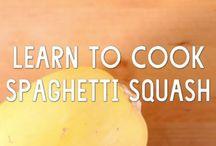 Delicious spaghetti squash