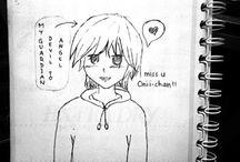 Sketch manga