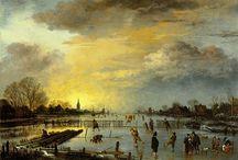 Dutch Masters - 1 - Aert van der Neer / The Golden Age of Dutch landscape painting