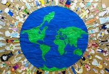 Earth day craft idea / this page has a lot of free Earth day craft idea for kids,parents and preschool teachers.