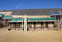 Renovation of Tithe Barn / Here are some photos showing the renovation of the Tithe Barn at Manor Yard in Symondsbury. It has undergone sympathetic and artistic renovations to create an elegant and charming wedding and events venue.