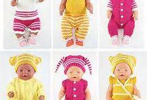 Baby kleertjes breien