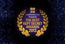 Shhhhh.... / You nominated, our judges, erm... judged, and now we're ready to crown the bee's knees of UK hotels. The LateRooms.com Best Kept Secret Awards 2013 go to...