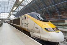 Viajar de trem  pela Europa Londres-Berlim