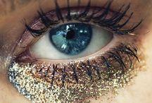 Makeup paillettes