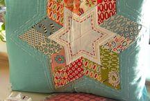 Diamond star cushion
