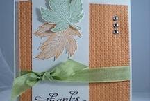 Fall ideas/cards / by Pam Shea