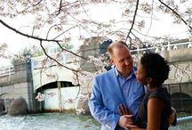 Cherry Blossom Engagement Photos 2014 / Lotus Production had the honor of capturing the prequel to the love story of these beautiful couples.