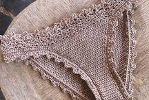 celana crochet