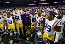 LSU Football / All Things LSU Football  / by Shawn Wilson