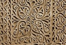 Skull carvings