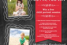 Pin it to win it / Pin our pin and get entered in to win a free child portrait session! Local Austin Texas residents only.