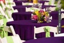 Wedding: Rustic - Purple & Green / November 2016 Wedding ☺️☺️☺️