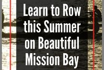 Learn to Row Summer Camps in San Diego / San Diego Rowing Club Juniors Team - summer camps for kids ages 10 -18 on beautiful Mission Bay!