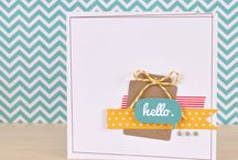 paper crafting and cards