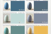 Paletas de colores cocina