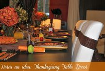 Thanksgiving/Fall Table Decor