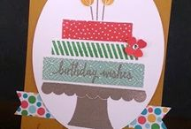 Build a Birthday Card Ideas / by Laurie Graham: Avon Rep/Stampin' Up! Demo