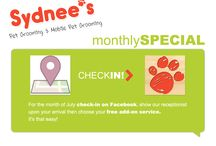 Monthly Specials / To be the FIRST to hear about our monthly specials, SUBSCRIBE to our newsletter by visting our site, www.sydneespetgrooming.com #petgrooming #doggrooming #grooming #pets