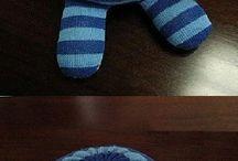 muñecos de calcetín