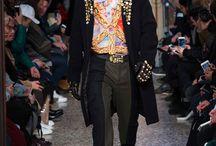 Moschino F/W 17 Menswear and Women's pre-collection fashion show