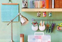 Home - Rhonda's Craft & Hobby Room... / by Rhonda Waymire Cline