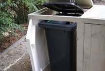 Mülltonnenversteck