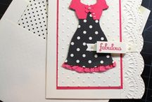 Dress up cards