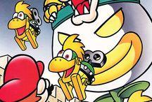 Mario vintage artworks