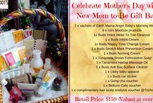 Mother's Day / Happy Mother's Day to all mommies out there! In celebration of Mother's Day, we would like to celebrate the entire month of May with these 2 Gift Baskets. Available for in-store purchases.