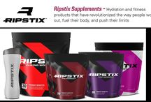RipStix Fitness Supplements / Want to take your workout to the next level?  Try our Ripstix Fitness Supplements!