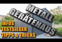 Metallgerätehaus