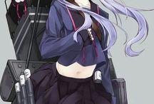 Gun Anime Girls