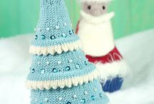 Knitted Christmas / Christmas knitting patterns