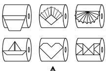 origami για χαρτί τουαλέτας
