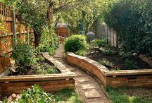 Outdoor livings spaces