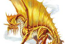 Dragon • Gold