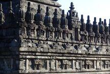 Indonesia: Templo de Prambanan (isla de Java) / Conjunto de 200 templos hindúes, cerca de la ciudad  de Yojyakarta.