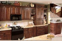Chestnut Elegance - Showplace Cabinets / Oxford and Covington Door Styles