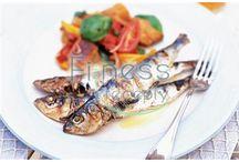 Fitness recepty - ryby / Zdravé fitness recepty na prípravu rýb.