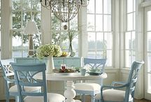 Dine In / Dining Rooms and Breakfast Nooks / by Chellie Hailes