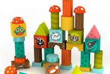 Juguetes de madera para bebé / Seleccion de juguetes realizados en madera especialmente pensados para el desarrollo de los sentidos del bebé y que además tienen un bonito diseño. Wood baby toys - Brinquedos para bebés de madeira - Giocattoli per neonati in legno - Jouets pour bébé en bois