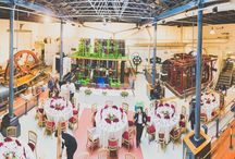 Wedding at London Museum of Water and Steam