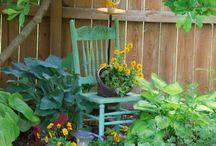 Zakątki w ogrodzie
