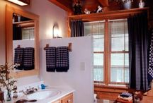Baths / Appalachian Log & Timber Homes Client Bathroom Gallery