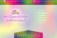 Holi Greetings / #happyholi