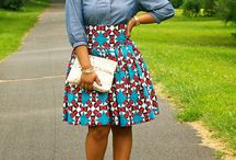 Kitenge Skirt